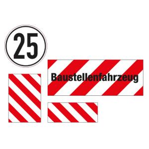 Fahrzeug- und Containerkennzeichnung