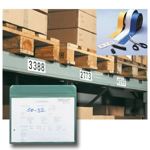 Magnetische Lagerkennzeichnung