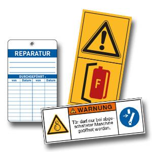 Maschinenkennzeichnung
