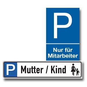 Parkplatzkennzeichnung