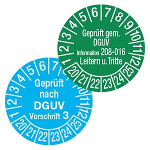 Plaketten für gesetzliche Prüfungen