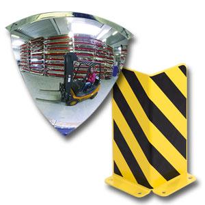 Industriespiegel und Anfahrschutz