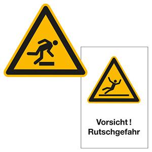 Warnschilder für Lager und Betriebsgelände