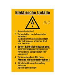 Elektrische Unfälle