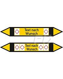 Rohrleitungskennzeichen - Gruppe 5 - nicht brennbare Gase