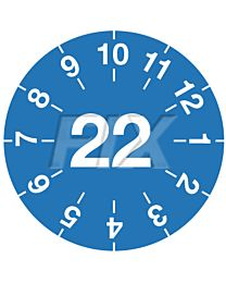 Miniprüfplakette - 2022