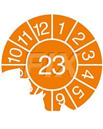 Jahresprüfplakette - 2023