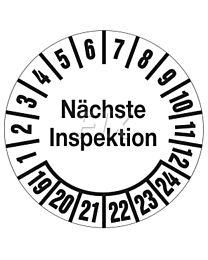 Prüfplakette-geprüft nach DGUV Vorschrift 54