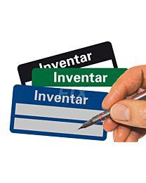 Inventar - zum Selbstbeschriften