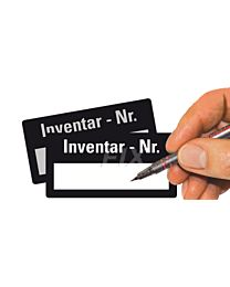 Inventar - Nr.  - zum Selbstbeschriften