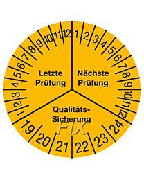 Prüfplakette - Letzte/Nächste Prüfung