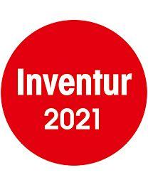 Inventuraufkleber - 2021