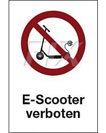 E - Scooter verboten