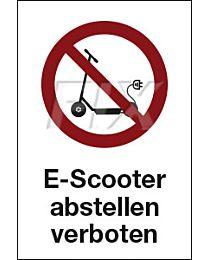 E-Scooter abstellen verboten