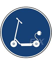 E - Scooter erlaubt