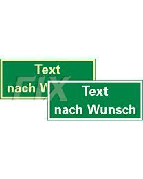 Text nach Wunsch