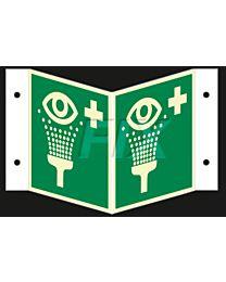 Winkelschild - Augenspüleinrichtung - LN