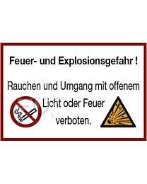 Feuer- und Explosionsgefahr!