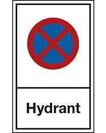 Halteverbot: Hydrant