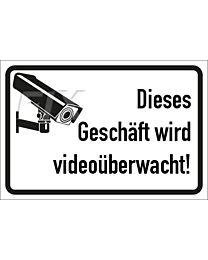 Videoüberwachung Geschäft