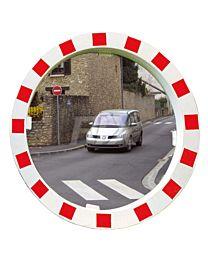 Verkehrsspiegel rund
