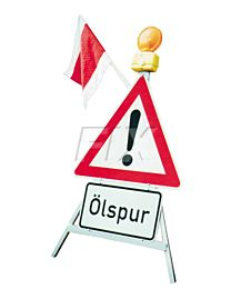Vorwarnständer für Verkehrszeichen