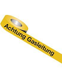 Trassenwarnband: Achtung Gasleitung