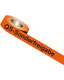 QS-Band: QS - Sonderfreigabe