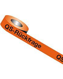 QS-Band: QS - Rückfrage