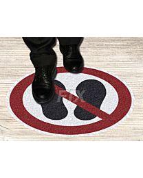 Bodenmarkierer - Betreten verboten