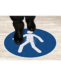 Bodenmarkierer - Für Fußgänger