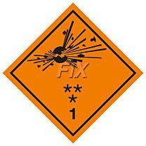 Gefahren Kl. 1 Explosive Stoffe