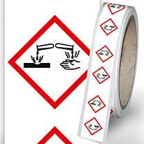 Rohrleitungsbänder Gefahrstoffe - G05 - ätzend