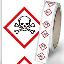 Rohrleitungsbänder Gefahrstoffe - G06 - giftig