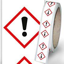 Rohrleitungsbänder Gefahrstoffe - G07 - reizend
