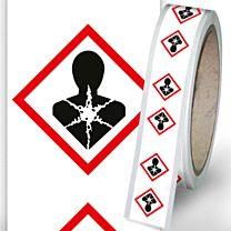 Rohrleitungsbänder Gefahrstoffe - G08 - gesundheitsschädlich