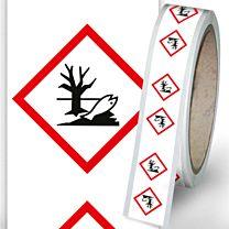 Rohrleitungsbänder Gefahrstoffe - G09 - umweltgefährlich