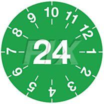 Miniprüfplakette - 2024