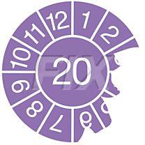 Jahresprüfplakette - 2020