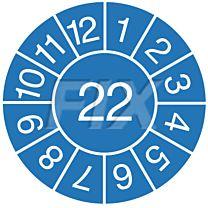 Jahresprüfplakette - 2022