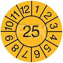 Jahresprüfplakette - 2025