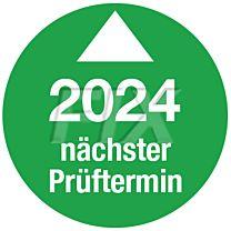 Prüfplakette - Nächster Prüftermin - 2024, Ø 30mm