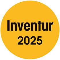 Inventuraufkleber - 2024