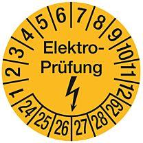 Prüfplakette - Elektroprüfung