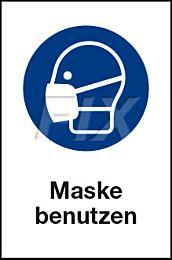 Maske benutzen