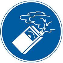 Gasdetektor benutzen