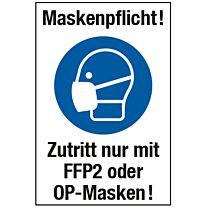 Maskenpflicht - medizinische Maske