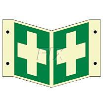 Winkelschild - Erste Hilfe - LN