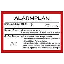 Alarmplan