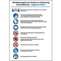 Verhaltensregeln bei Virusinfektionen